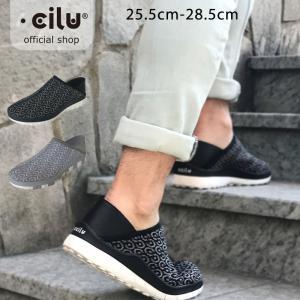 スリッポン メンズ レザー 軽量 チル ccilu デッキシューズ コンフォートシューズ 靴 アウトドア|ccilu