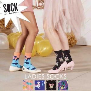 Sock It To Me ソック イット トゥ ミー ソックス レディース 靴下 総柄|ccilu