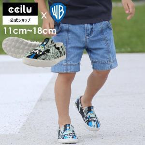 キッズ スリッポン コンフォートシューズ ccilu 小さいサイズ 子供靴 11.0〜18.0cm ワーナー・ブラザース×チル|ccilu