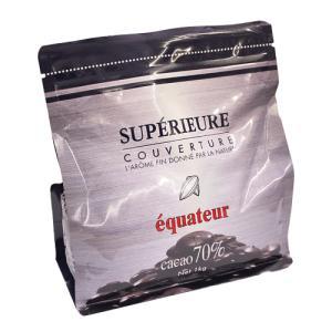 【カカオ分70%】 エクアドル産のカカオを主体に、香料を一切使わず作り上げたエキストラビタータイプの...
