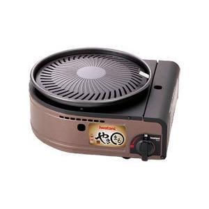 イワタニ カセットガス スモークレス焼肉グリル「やきまる」 CB-SLG-1 家電 調理・キッチン家...