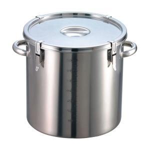 (代引不可)EBM 18-8 パッキン寸胴鍋(目盛付)36cm 手付 8044400