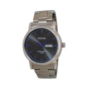 (代引不可)TELVA アナログ時計(M) TE-AM003-BKS ccnshop