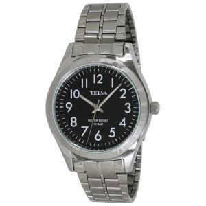 (代引不可)TELVA アナログ 腕時計(M) TE-AM010-BKS ccnshop