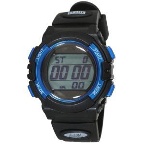 (代引不可)TELVA デジタル 腕時計 TE-D052-BL ccnshop
