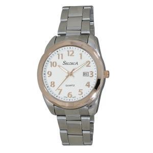 (代引不可)SELDICA アナログ 腕時計 SD-AM047-SVT ccnshop