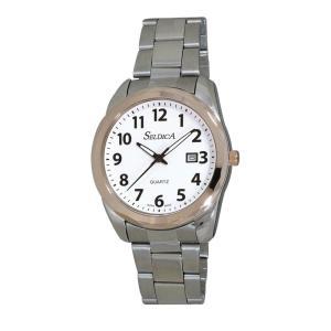 (代引不可)SELDICA アナログ 腕時計 SD-AM048-WTT ccnshop