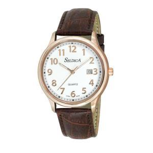 (代引不可)SELDICA アナログ 腕時計 SD-AM050-WTG ccnshop