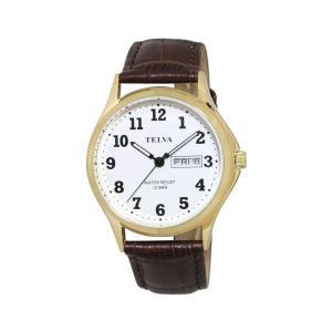 (代引不可)TELVA アナログ 腕時計(M) TE-AM001-WTG ccnshop