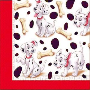 1枚バラ売りペーパーナプキン ディズニー Disney キャラクター 101匹わんちゃん ペーパーナプキン 紙ナフキン 2枚重ね デコパージュ|ccpopo