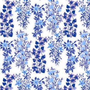 1枚バラ売りペーパーナプキン Ambiente オランダ 野原に咲くブルーの花々 Field Flowers Blue 13309151 デコパージュ ドリパージュ|ccpopo