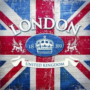 Ambiente オランダ ペーパーナプキン イギリス国旗 LONDON TOWN 13308290 バラ売り2枚1セット デコパージュ ドリパージュ|ccpopo