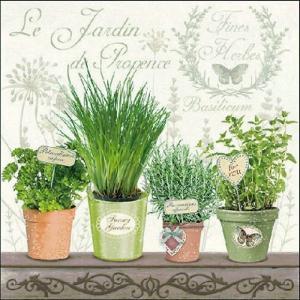 Ambiente オランダ ペーパーナプキン プロバンス地方のガーデン Le Jardin De Provence 13309790 バラ売り2枚1セット デコパージュ ドリパージュ|ccpopo