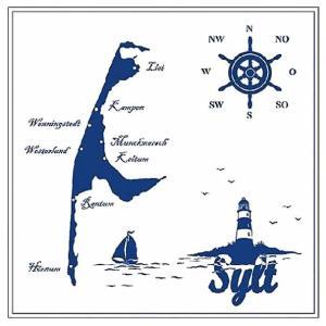 在庫処分 Ambiente オランダ ペーパーナプキン ジルト島 Sylt 13310355 バラ売り2枚1セット デコパージュ ドリパージュ|ccpopo