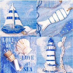 1枚バラ売り25cmペーパーナプキン Ambiente オランダ LOVE AT SEA 海辺の愛 12508365 紙コースター デコパージュ ドリパージュ|ccpopo