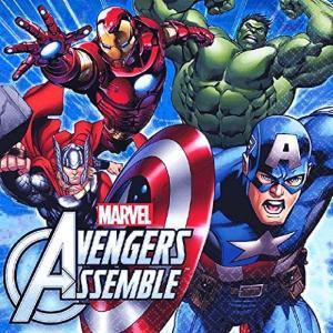 1枚バラ売りペーパーナプキン アベンジャーズ Marvel Avengers 紙ナフキン デコパージュ  511354|ccpopo