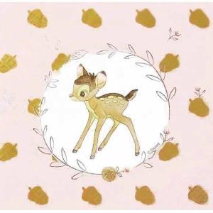 1枚バラ売り人気キャラクター ディズニーアニメ Disney バンビ Bambi MADE IN EU ペーパーナプキン 紙ナフキン デコパージュ  5201184899007|ccpopo