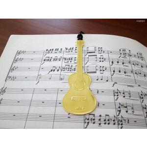 おしゃれな楽器のしおり ウクレレ 金色のブックマーク 18KGP ccpopo
