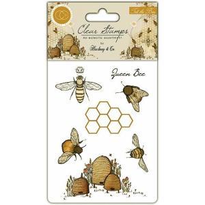 クラフトコンソーシアム Craft Consortium イギリス クリアスタンプ Tell the Bees CCSTMP002 スクラップブッキング|ccpopo