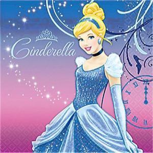 2枚1セット シンデレラ CINDERELLA ディズニー アメリカ MADE IN USA ペーパーナプキン 紙ナフキン 2枚重ね|ccpopo