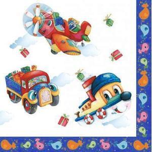 Daisy ポーランド ペーパーナプキン 子供達のおもちゃ Kinder Spielzeug バラ売り2枚1セット SDOG-010801 デコパージュ ドリパージュ|ccpopo