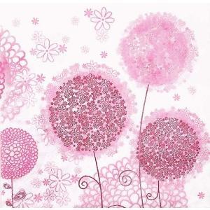 Daisy ポーランド ペーパーナプキン Lunch napkins タンポポの花 Graphic Dandelion Flowers SDOG-024101 バラ売り2枚1セット デコパージュ ドリパージュ|ccpopo