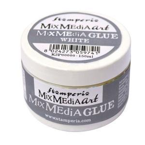 スタンペリア Stamperia 多目的デコパージュ糊 のり デコパージュ液 Mix Media Glue 150 ml DC28M|ccpopo