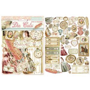 スタンペリア Stamperia イタリア ダイカットアソート プリンセス Princess 素材 DFLDC16 2020秋冬 ccpopo