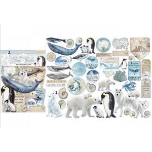 スタンペリア Stamperia イタリア ダイカットアソート 北極 南極大陸 Arctic Antarctic 素材 DFLDC19 2020秋冬 ccpopo