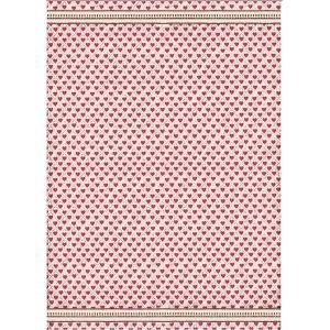 スタンペリア Stamperia イタリア デコパージュ用ライスペーパー A3 29.7cmX42cm Rice paper DFSA3022 アリスハート  Alice Hearts モチーフ 2019年春夏|ccpopo