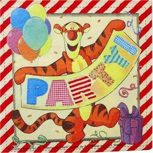 1枚バラ売りペーパーナプキン ディズニー winnie the pooh くまのプーさん ティガー デコパージュ ドリパージュ|ccpopo