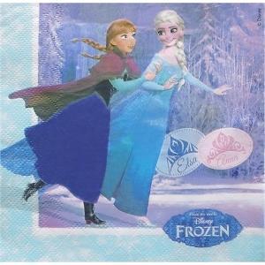 1枚バラ売りペーパーナプキン アナと雪の女王 ディズニー DISNEY FROZEN MADE IN EU 紙ナフキン|ccpopo