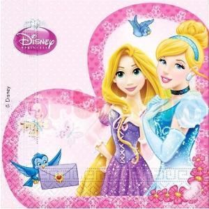 1枚バラ売りペーパーナプキン ディズニープリンセス DisneyPrincess シンデレラとラプンツェル デコパージュ ドリパージュ ccpopo