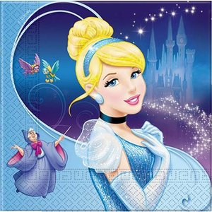 1枚バラ売りペーパーナプキン ディズニー Disney シンデレラ Cinderella デコパージュ ドリパージュ 5201184809990|ccpopo