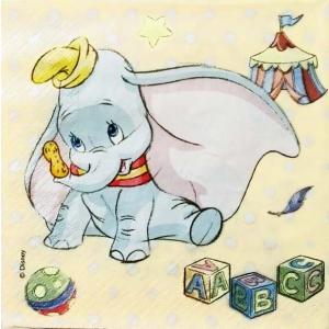 1枚バラ売りペーパーナプキン ディズニー Disney ダンボ Dumbo デコパージュ ドリパージュ|ccpopo