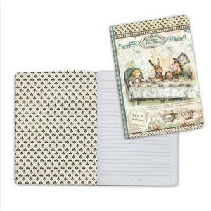 スタンペリア Stamperia イタリア 不思議の国のアリス ノートブック Notebook A5 Alice Mad Hatter ENBA5006 2019秋冬|ccpopo