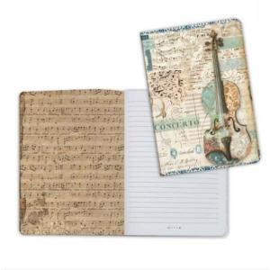 スタンペリア Stamperia イタリア ノートブック Notebook A5 ミュージックバイオリン Music violin ENBA5011 2019秋冬|ccpopo
