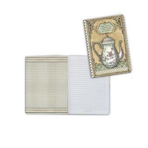 スタンペリア Stamperia イタリア 不思議の国のアリス ノートブック Notebook A6 Alice teapot ENBA6005 2019秋冬 ccpopo