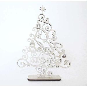 ロシア 露 クラフトプレミア Craft Premier 木製ミニクリスマスツリー ロシア産白樺(しらかば)使用 FN014 日本総代理店推奨 正規輸入品|ccpopo
