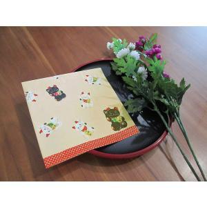 作品販売可 FRONTIA フロンティア ペーパーナプキン 招き猫 バラ売り2枚1セット デコパージュ ドリパージュ|ccpopo