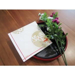 作品販売可 FRONTIA フロンティア ペーパーナプキン お祝い鶴 バラ売り2枚1セット デコパージュ ドリパージュ|ccpopo