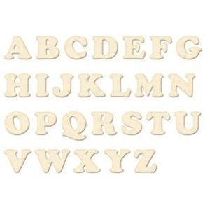 スタンペリア Stamperia 木製素材 ウッドアルファベットフレーム Wooden Alphabet Letters GKL006|ccpopo