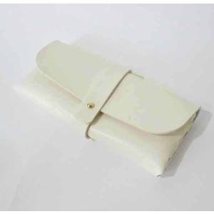 デコパージュ用白無地メガネケース 眼鏡ケース めがねケース メガネケース 素材 材料|ccpopo