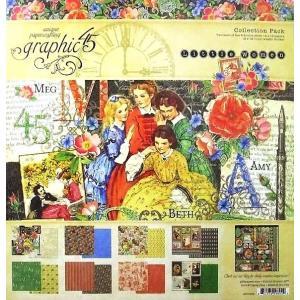 グラフィック45 Graphic 45 MADE IN USA アシッドフリー Little Women 12