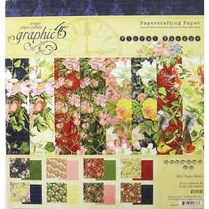 グラフィック45 Graphic 45 MADE IN USA アシッドフリー Floral Shoppe 8