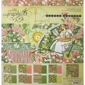 グラフィック45 Graphic 45 MADE IN USA アシッドフリー Garden Goddess 12