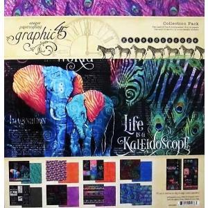 グラフィック45 Graphic 45 MADE IN USA アシッドフリー Kaleidoscope 12