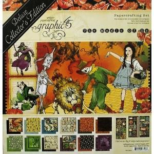 グラフィック45 Graphic 45 MADE IN USA アシッドフリー オズの魔法使い Magic of Oz 12