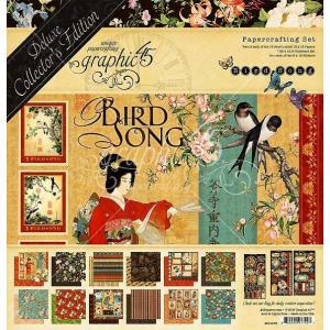 グラフィック45 Graphic 45 MADE IN USA アシッドフリー Bird Song 12