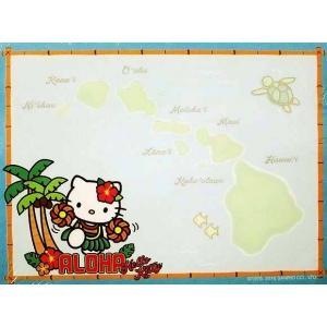 廃版レア品 少量限り ハワイ Island Heritage ハローキティ フラダンス ダイカットポストイット ふせん 付箋 ハワイアン|ccpopo